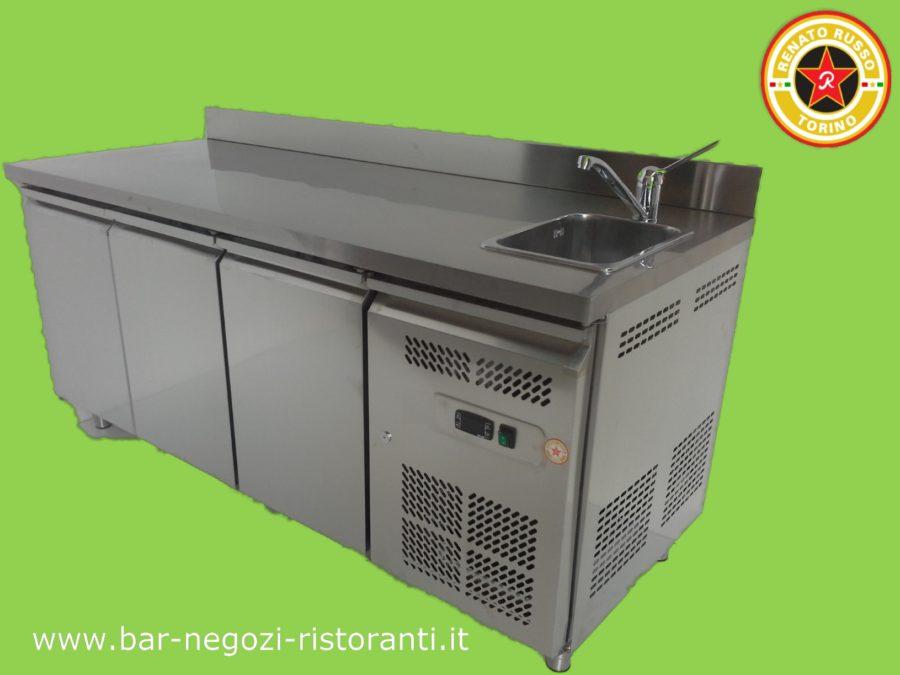 tavolo refrigerato con 3 porte