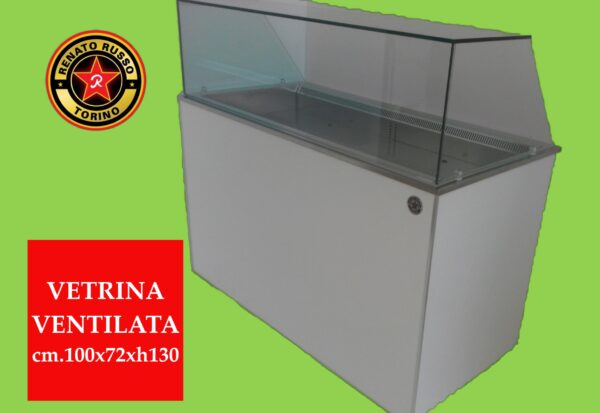 vetrina refrigerata ventilata