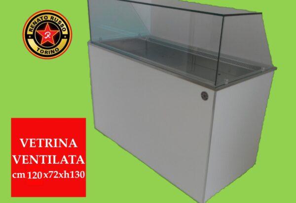 vetrina ventilata per pasticceria