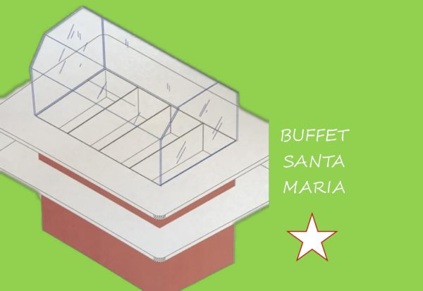 buffet per linea self service