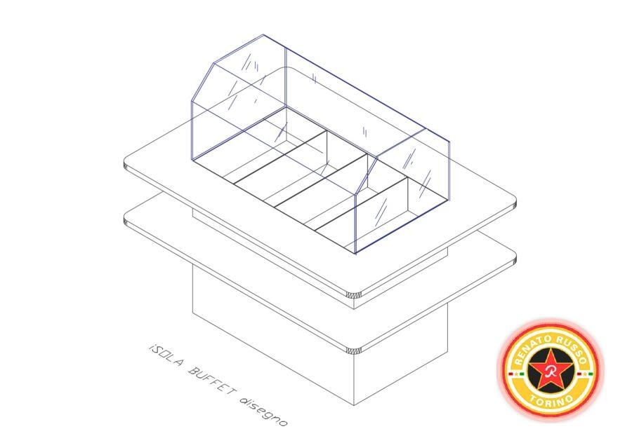 isola refrigerata per self service