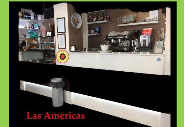 bancone bar Las Americas