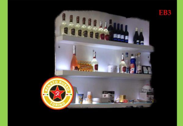 espositore per bottiglie bar