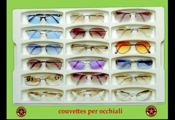 vassoio per occhiali