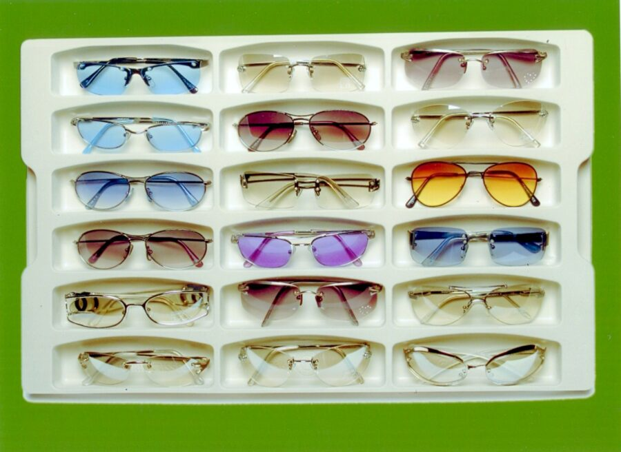couvette per occhiali
