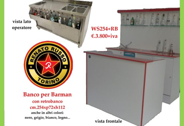 banco per barman