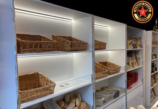 scaffali per il pane