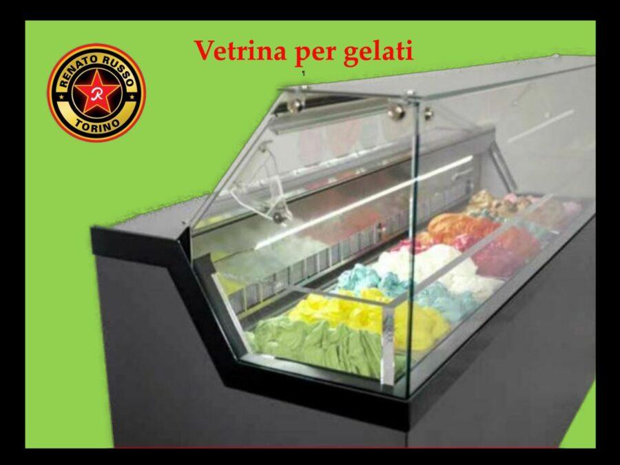 vetrina per gelati