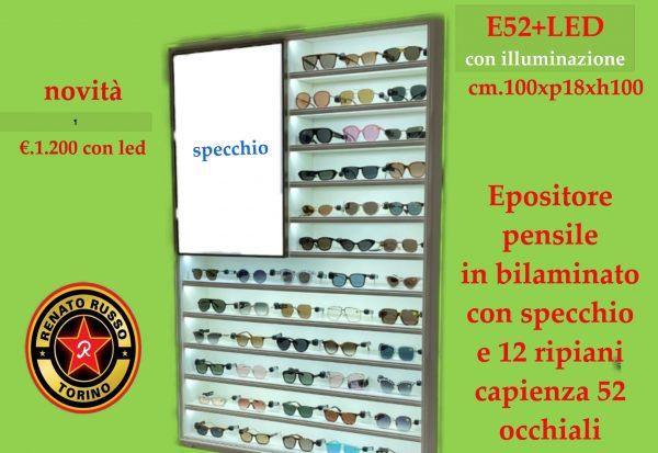 espositore per occhiali