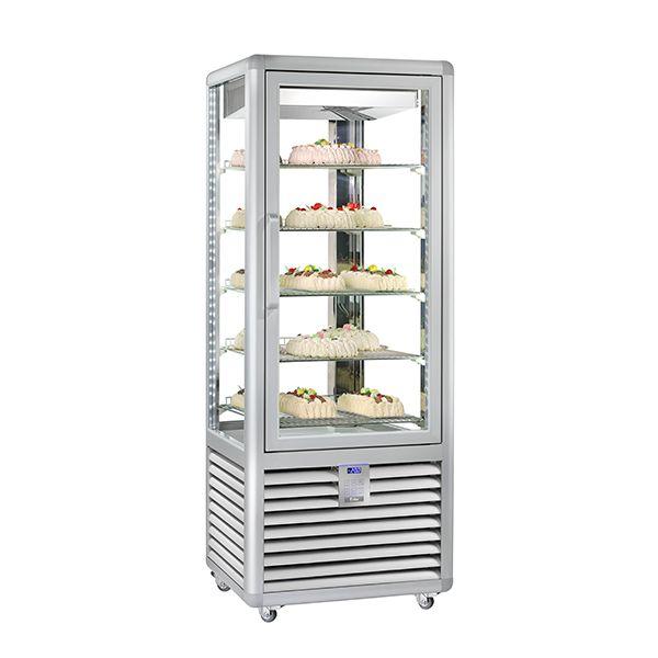 vetrina verticale per pasticceria